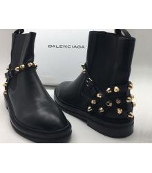 Полусапоги женские Balenciaga (Баленсиага) Black