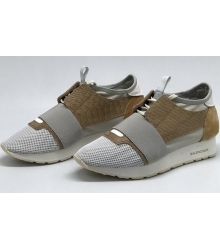 Женские кроссовки Balenciaga (Баленсиага) Grey\Brown
