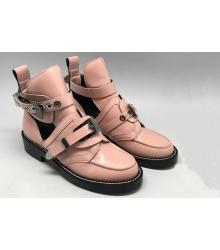 Ботинки женские Balenciaga (Баленсиага) летние Pink