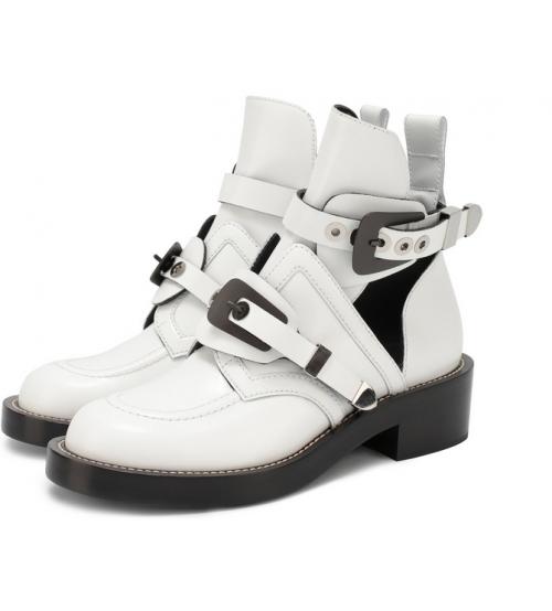 Ботинки женские Balenciaga (Баленсиага) летние White