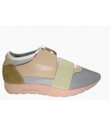 Женские кроссовки Balenciaga (Баленсиага) Pink/Grey