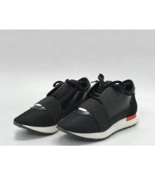 Женские кроссовки Balenciaga (Баленсиага) Race Runner Black/Red