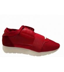 Женские кроссовки Balenciaga (Баленсиага) Red