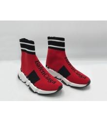 Женские кроссовки Balenciaga (Баленсиага) Speed 2019 Red
