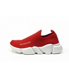 Женские кроссовки Balenciaga (Баленсиага) Speed Red