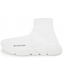 Кроссовки Balenciaga (Баленсиага) Speed Trainer High White