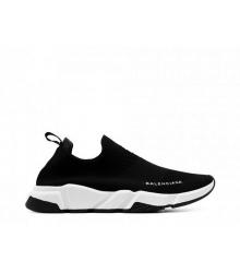 Кроссовки Balenciaga (Баленсиага) Speed Trainer текстиль Black