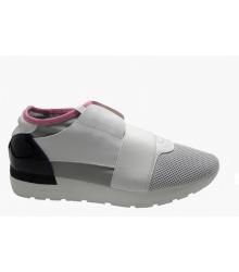Женские кроссовки Balenciaga (Баленсиага) White/Grey
