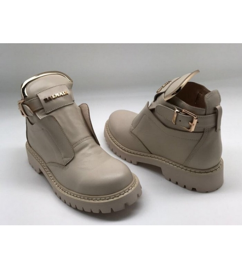 Женские ботинки Balmain (Бальман) Beige