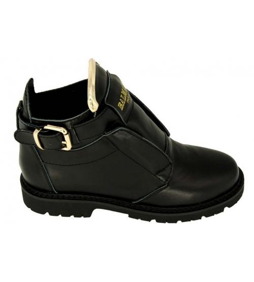 Ботинки женские Balmain (Бальман) Black/Gold