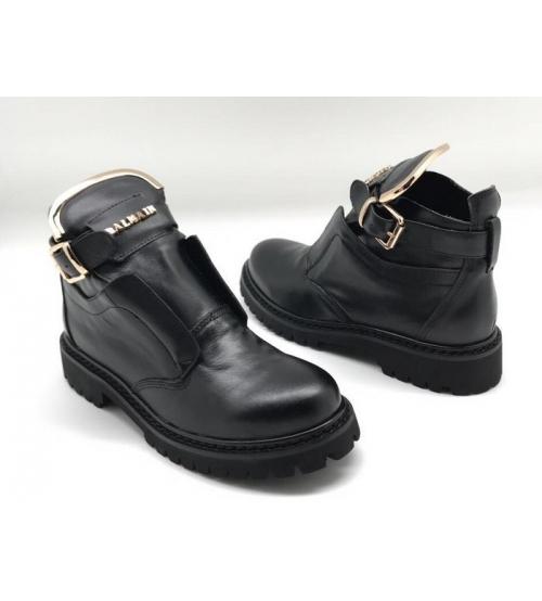 Женские ботинки Balmain (Бальман) Black