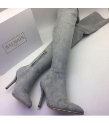 Ботфорты женские Balmain (Бальман) Grey
