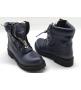 Ботинки женские Balmain (Бальман) натуральная кожа Blue