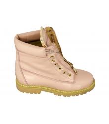 Ботинки женские Balmain (Бальман) Pink