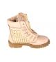 Женские ботинки Balmain (Бальман) Pink/Gold