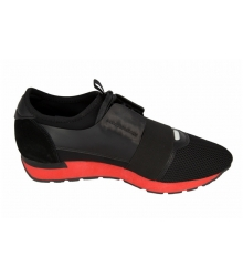 Кроссовки мужские Balenciaga (Баленсиага) Black/Red