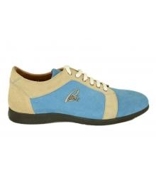 Кроссовки мужские Brioni (Бриони) Blue/Grey