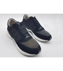 Женские кроссовки Brunello Cucinelli (Брунелло Кучинелли) Black/Grey