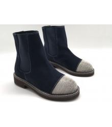 Женские ботинки Brunello Cucinelli (Брунелло Кучинелли) Blue