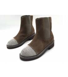 Женские ботинки Brunello Cucinelli (Брунелло Кучинелли) Brown