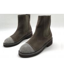 Женские ботинки Brunello Cucinelli (Брунелло Кучинелли) Grey