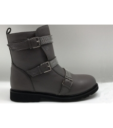 Ботинки женские Brunello Cucinelli (Брунелло Кучинелли) High Grey