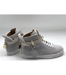 Кеды женские Buscemi 125 mm (Бушеми) замшевые Grey
