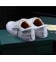 Кеды мужские Buscemi 50 mm (Бушеми) Low-Top White