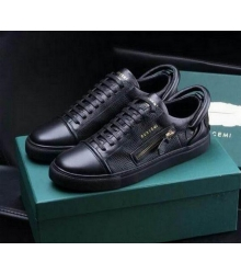 Кеды мужские Buscemi 50 mm (Бушеми) Low-Top Black