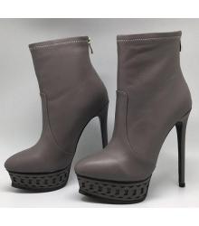 Ботильоны женские Casadei (Касадей) Dark Grey