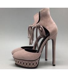 Туфли женские Casadei (Касадей) на платформе Biege