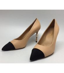 Туфли женские Chanel (Шанель) Beige/Black