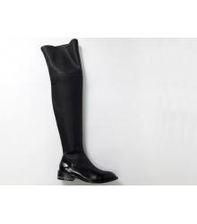 Ботфорты женские Chanel (Шанель) Black