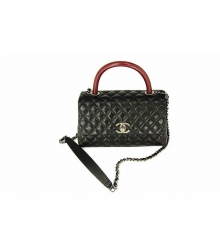 Женская сумка Chanel (Шанель) Black/Brown