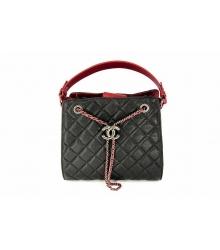 Женская сумка Chanel (Шанель) Black/Red