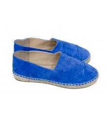 Эспадрильи Chanel (Шанель) Blue/Suede