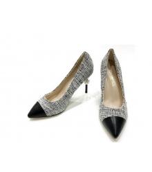 Женские туфли Chanel (Шанель) Cruise каблук шпилька Gray