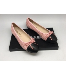 Балетки Chanel (Шанель) Cruise Pink/Black