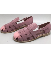 Женские сандалии Chanel (Шанель) Cruise Pink
