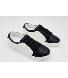 Женские кроссовки Chanel EX Sport (Шанель) White/Black