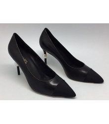 Туфли женские Chanel (Шанель) Full Black