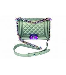 Женская сумка Chanel (Шанель) Green Small