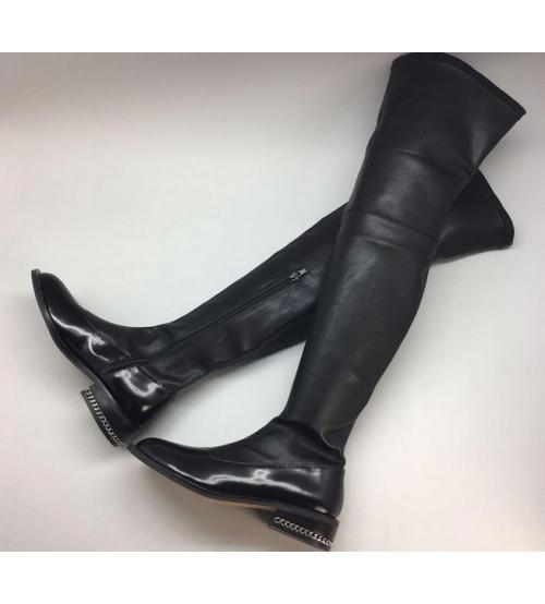 Ботфорты женские Givenchy (Живанши) High Black