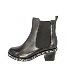 Ботинки Chanel (Шанель) High Black