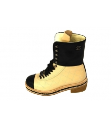 Ботинки Chanel (Шанель) High Light Beige