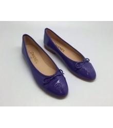 Балетки Chanel (Шанель) dona Low Purple
