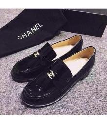 Женские лоферы Chanel (Шанель) Black