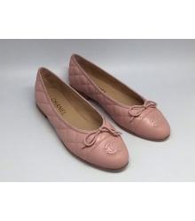 Балетки Chanel (Шанель) Low Light Pink