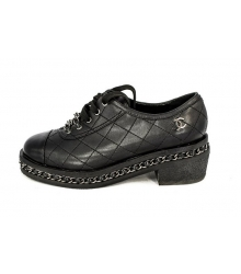 Ботинки Chanel (Шанель) Low Black