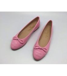 Балетки Chanel (Шанель) Low Pink